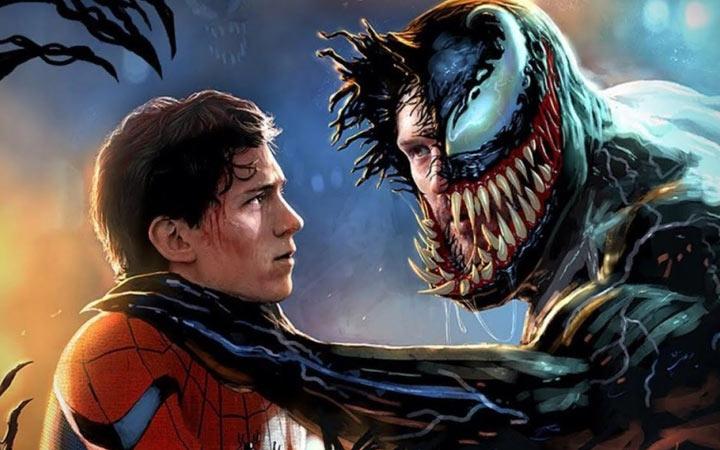 Веном и Человек паук - фильмы 2021 года