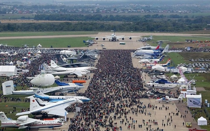 Программа авиашоу Макс в 2021 году