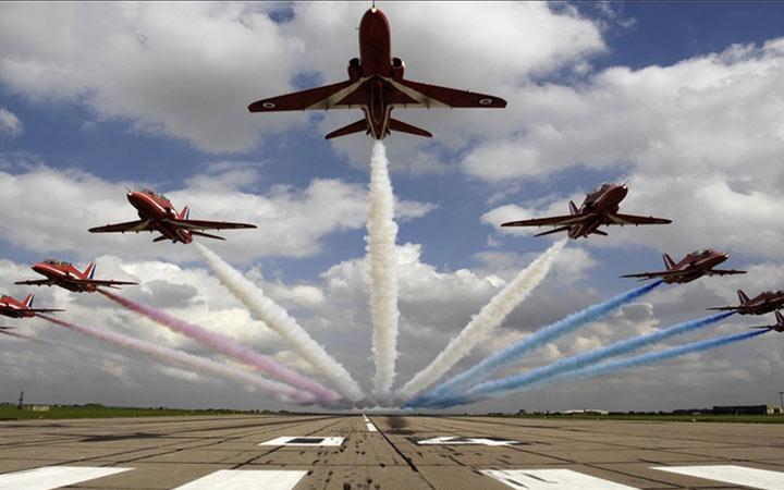 Участники авиашоу Макс в 2021 году
