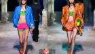 Мода сезона весна-лето 2021 - короткие многослойные шорты
