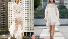 Белые ажурные летние платья сезона весна-лето 2021