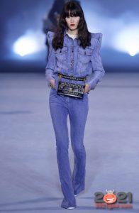 Модный джинсовый лук весна-лето 2021