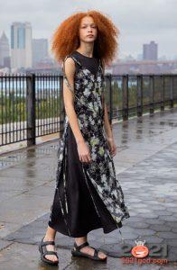 Модные многослойные платья весна-лето 2021