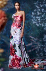 Модные платья на лето 2021 с цветочным прнтом