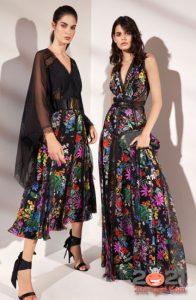 Модные платья на лето 2021 с цветочным узором