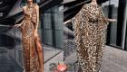 Модные платья весна-лето 2021 с леопардовым узором