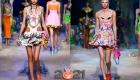 Модные короткие платья весна-лето 2021 беби-долл