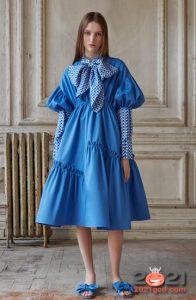 Модные пышные платья сезона весна-лето 2021