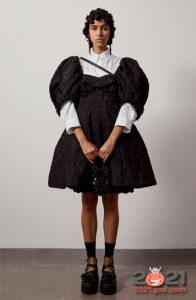 Модные короткие платья оверсайз весна-лето 2021