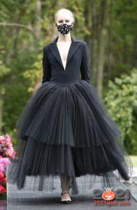 Модные платья весна-лето 2021 с пышными юбками