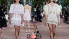 Модные ажурные платья весна-лето 2021