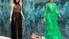 Модные прозрачные платья весна-лето 2021