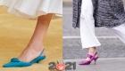 Модный туфли весна-лето 2021 с каблучком Kitten heel