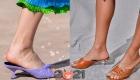 Модный туфли весна-лето 2021 с маленьким каблучком