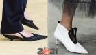 Туфли с маленьким каблучком весна-лето 2021 года