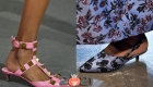 Туфли с маленьким каблучком сезона весна-лето 2021 года