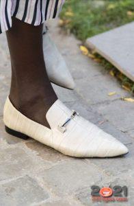 Модные туфли без каблука сезона весна-лето 2021 года