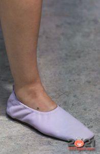 Модные туфли балетки сезона весна-лето 2021 года