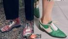 Модные туфли со шнуровкой весна-лето 2021 года