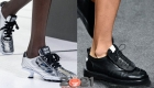 Интересные туфли сезона весна-лето 2021 года со шнуровкой