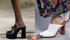 Модные сабо весна-лето 2021