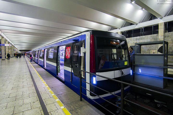 Поезд метро