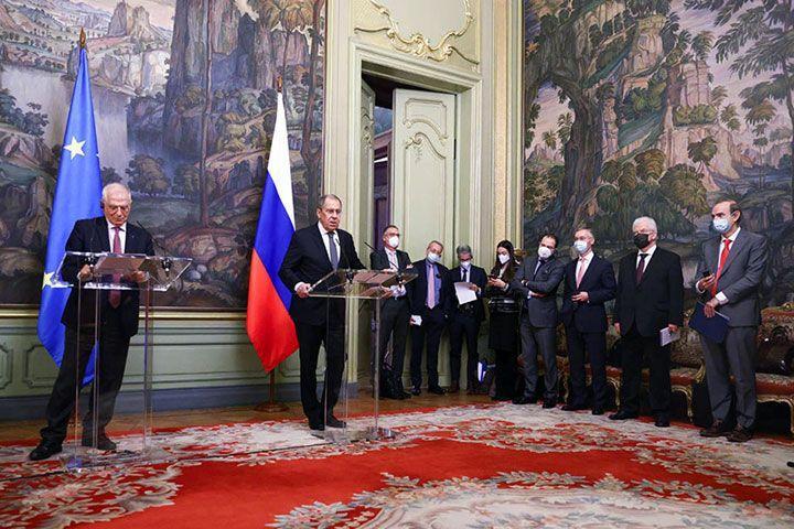 Переговоры между ЕС и Россией